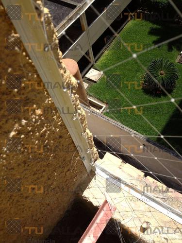 mallas seguridad evitan nichos de palomas valencia-maracay