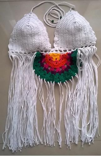 mallas tejidas al crochet