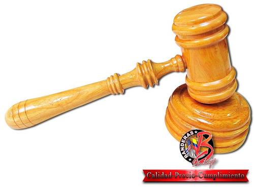malletes para magistrados y jueces