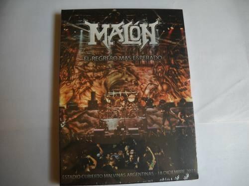 malon - el regreso!- dvd+cd nuevo (almafuerte-hermetica-v8)