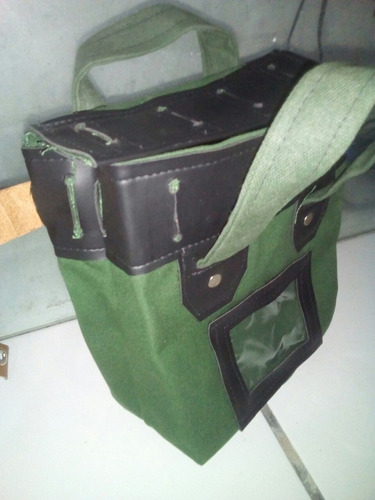 malote 20x25 kit 3 peças confeccionado com lona locomativa