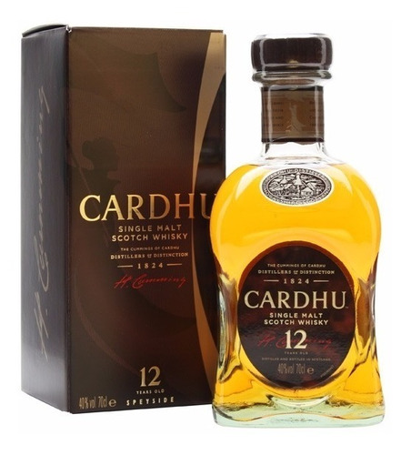 malt cardhu 12 year old 700cc