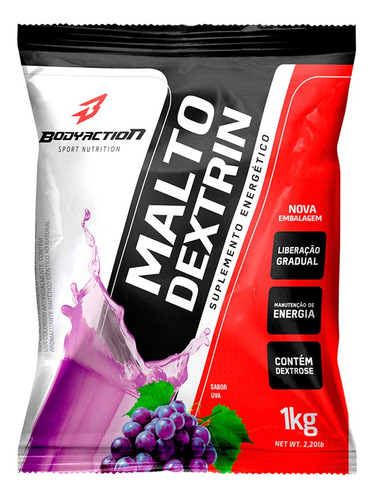 malto dextrin tangerina 1kg - bodyaction