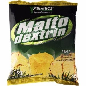 malto dextrina 1kg - atlhetica nutrition - abacaxi