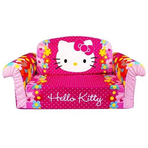 malvavisco muebles, sofá abierto flip, hello kitty