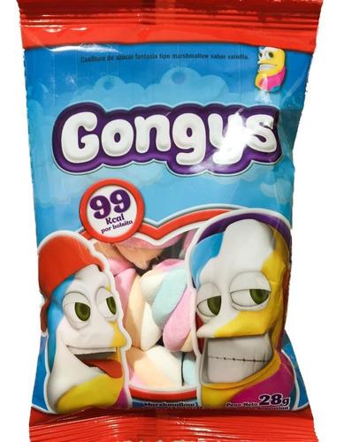 malvaviscos gongys 28grs (10 bolsas) - barata la golosineria