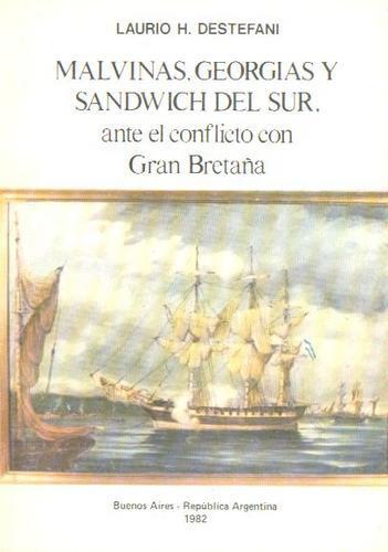 malvinas georgias y sanwich del sur distefano guerra bretaña