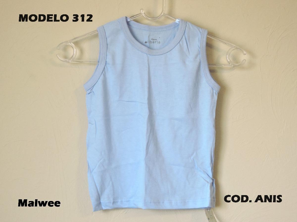malwee camiseta infantil regata masculina azul claro. Carregando zoom. 7a18ad0e402