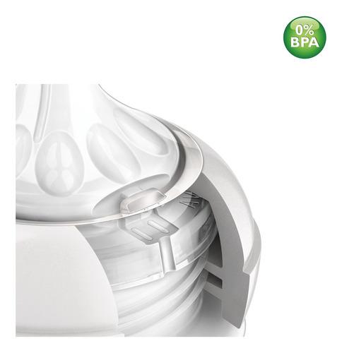 mamadeira anticólica 330ml avent com bico pétala 6m+