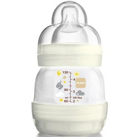 Mamadeira First Bottle Mam 130ml Bege