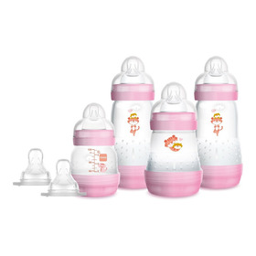 Mamadeira Mam Easy Start - Gift Set Rosa - 4692