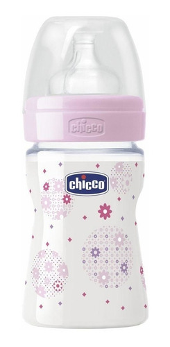 mamadera chicco wellbeing 150ml anticolico 0+ babymovil