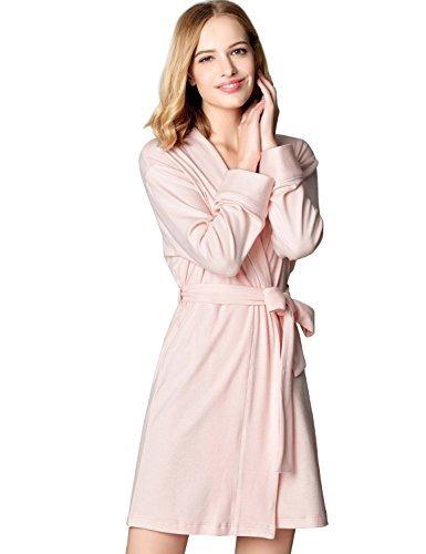 005ec6ddba Mamamiya Women s Soft Cotton Robe Kimono Ba Tamaño X-lar ...