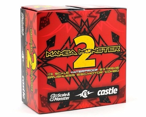 mamba monster 2 1/8 scale brushless car package (2200kv)