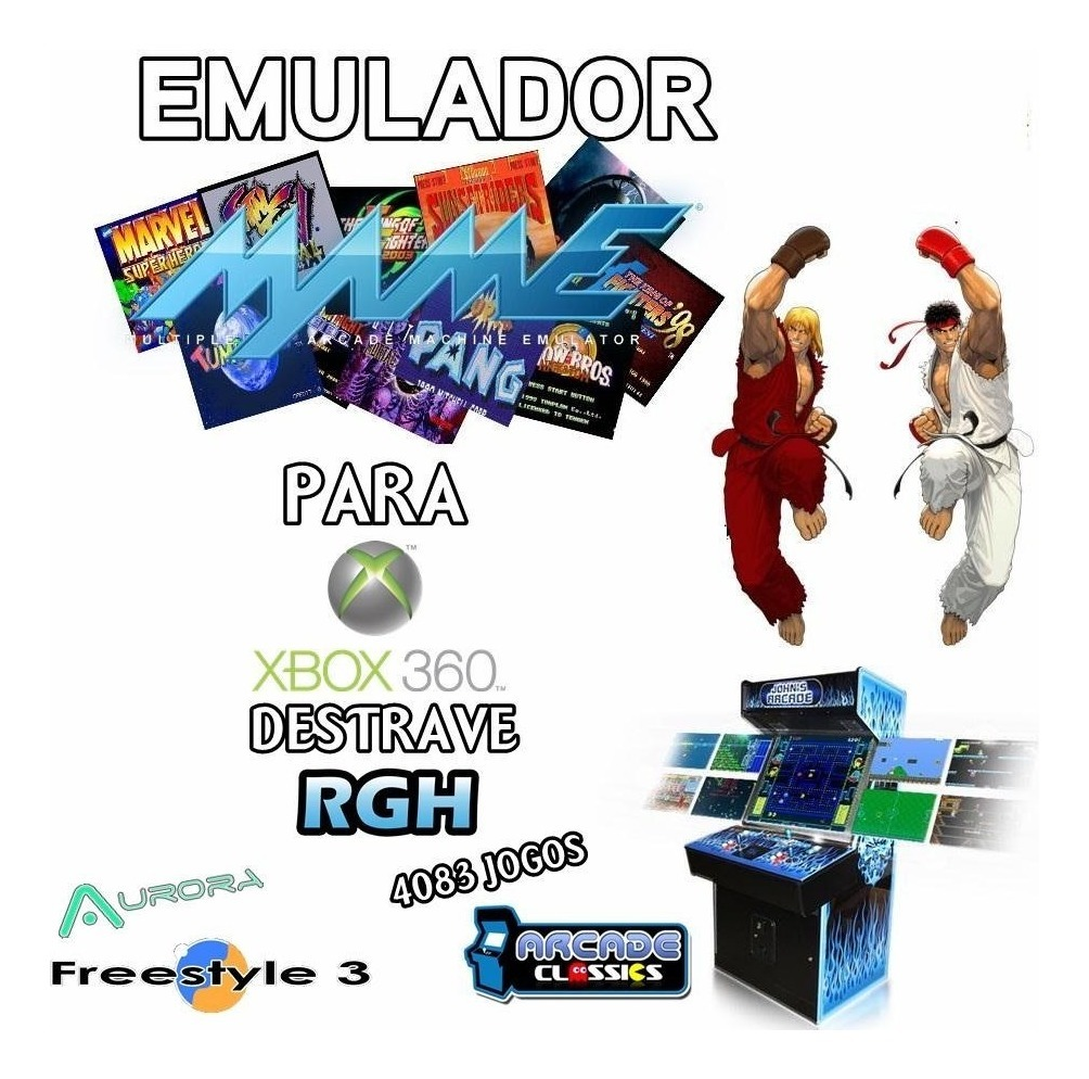 Mame 602 Games P/ Ex Box Rgh Dvd