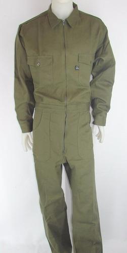 mameluco aspirantes gendarmeria - overoll- verde hasta t.46