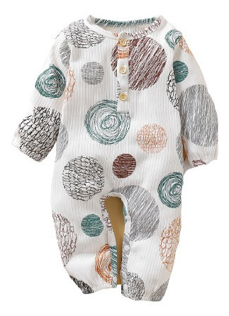 mameluco bebé círculos