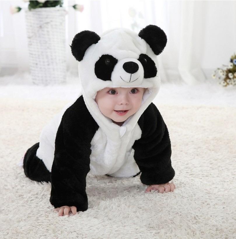 comprar nuevo primer nivel nueva alta calidad Mameluco Bebé Panda Pijama