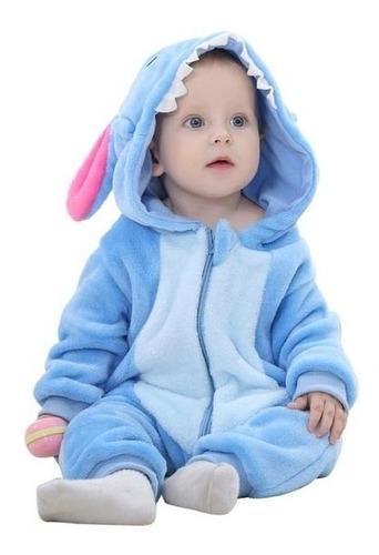 mameluco bebé stitch pijama