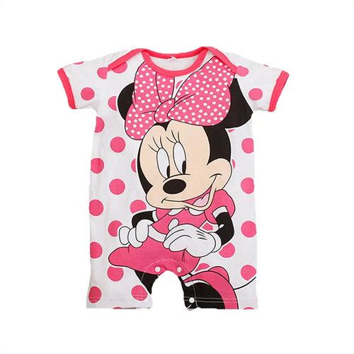 mameluco circulos baby kids niña bebé minnie mouse 3a24meses