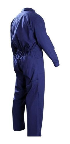 mameluco de trabajo gabardina azul - ynter industrial