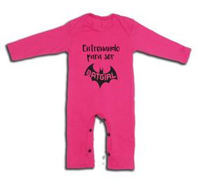 4ce2336b0 Mameluco Para Niña Regalo Baby Shower Bat Girl