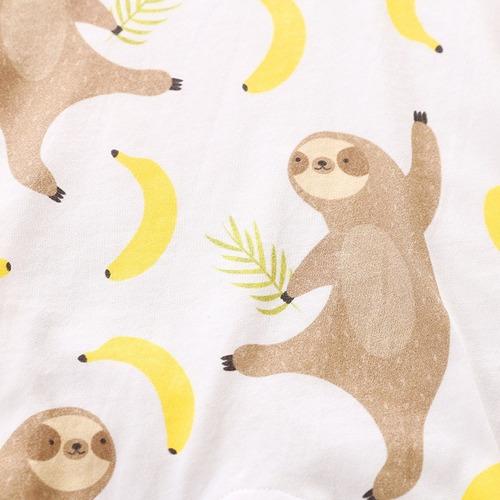 mameluco perezosos y bananas