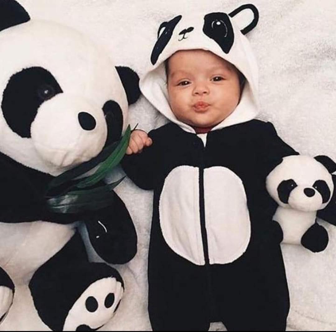 profesional de venta caliente nueva selección mejor coleccion Mameluco Pijama Astronauta Bebe Panda