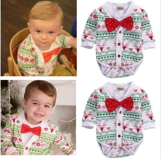 Mameluco ropa traje para bebe navidad en - Trajes de navidad para bebes ...