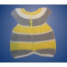 207fa74591b79 Chambritas Tejidas A Gancho Ropa Para Bebes - Ropa para Bebés ...