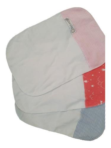 maminia babitas bebe tela o toalla toallita set x 2 o x 3