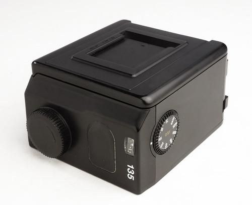 mamiya 645 - magazine, chassis, back, rollfim p/ filmes 35mm