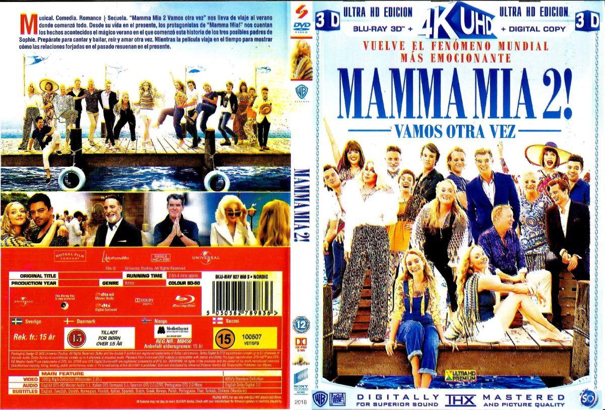 Mamma Mia 2 Vamos Otra Vez Dvds Final 25000 En Mercado Libre