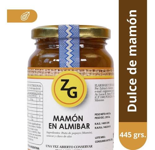 mamón en almibar zg x445g - línea gourmet