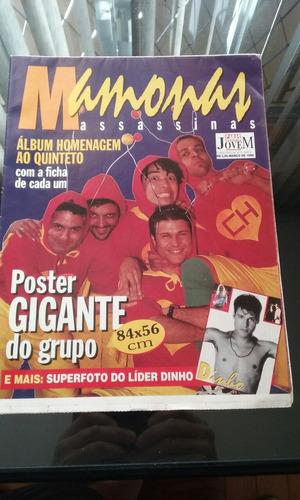 mamonas assassinas poster gigante ( caras 1996 )