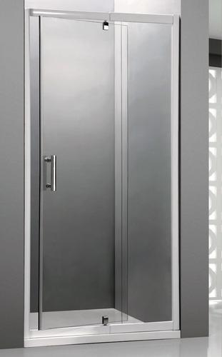 mampara baño l'hermetique 1.00mx1.90m pivotante transparente