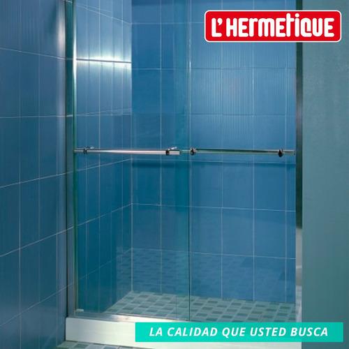 mampara baño l'hermetique + 1300mm x 1900mm + transparente