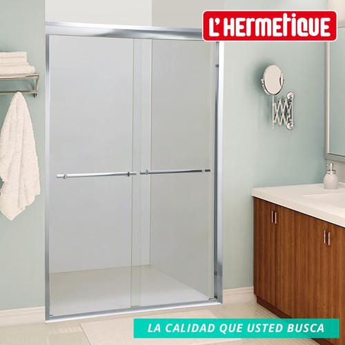 mampara baño l'hermetique 1.40m x 1.90m + transparente
