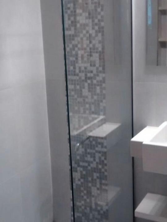 Mampara De Baño Fija Laminado Seguridad Blindex 180x80 6mm ... 559f4fbc7248