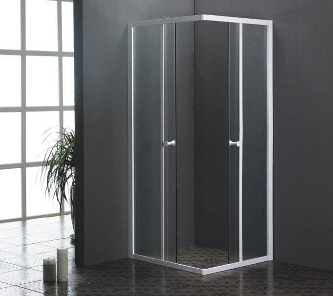 Mampara de ducha aluminio y cristal u s 199 00 en - Mampara cristal ducha ...