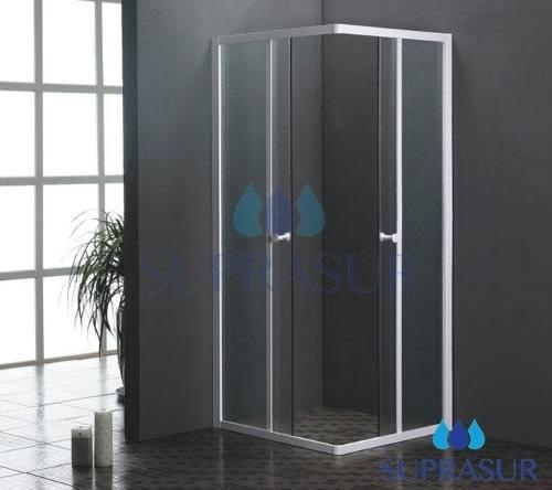 Mampara de ducha aluminio y cristal u s 209 00 en - Mampara cristal ducha ...