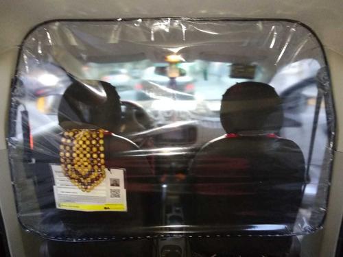 mampara de protección para taxis y remises