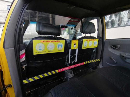 mampara para taxis