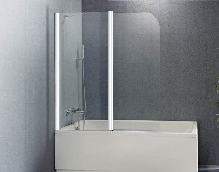 mampara sobre bañera 2 hojas - gorena agua