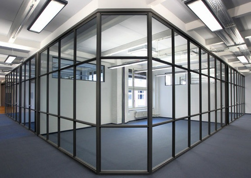 mamparas de aluminio y vidrio