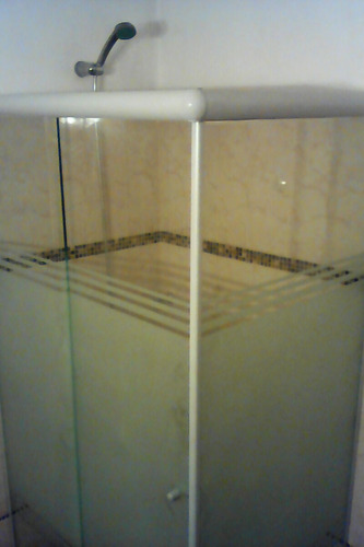 mamparas para baño.   en vidrio templado x ( m2 )