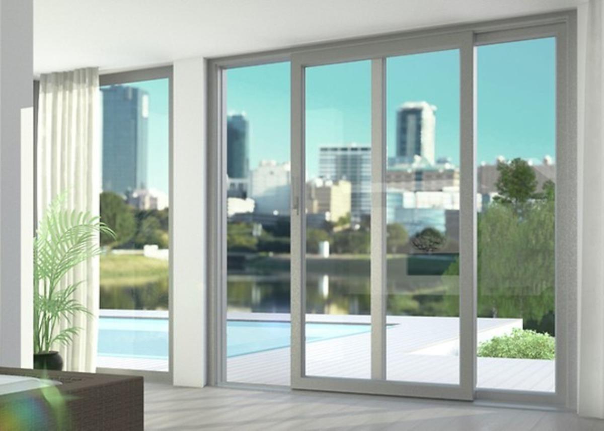 Mamparas ventanas puertas en vidrio temp s 20 00 en for Ventanas en madera para interiores