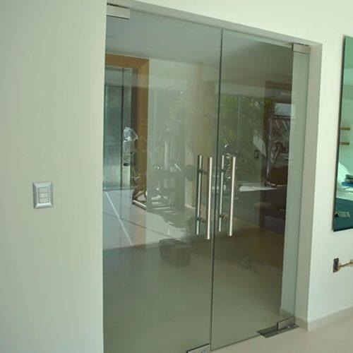 Mamparas y puertas en vidrio templado de 8mm 10mm s 99 - Mampara vidrio templado ...