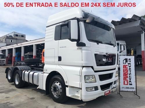 man 28440 28.440 truck  entrada r$ 145.000,00 + 24x 5.950,00