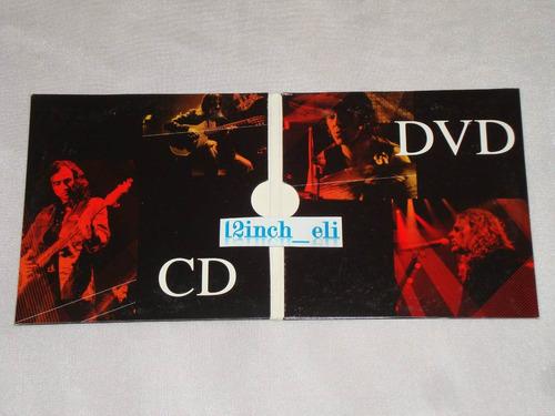 mana arde el cielo 08 warner single promo mx cd + dvd